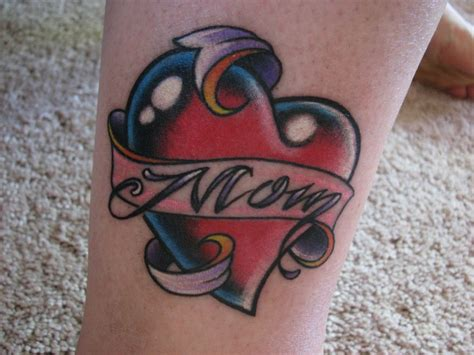 heart mom tattoo tattoos designs ideas and meaning tattoos for you