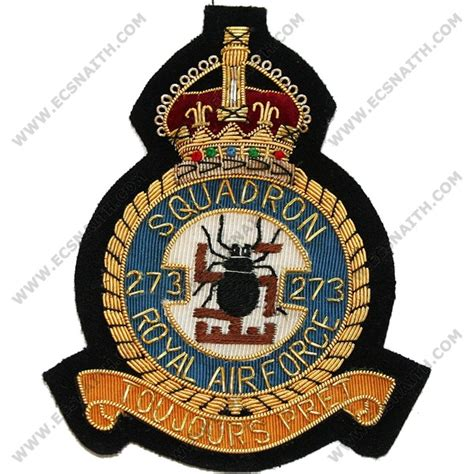 squadron patch template royal air blazer badge 273 squadron wire