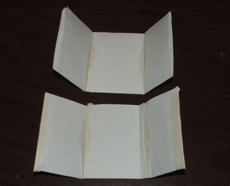 How To Fold A Paper Wallet - tri fold paper wallet