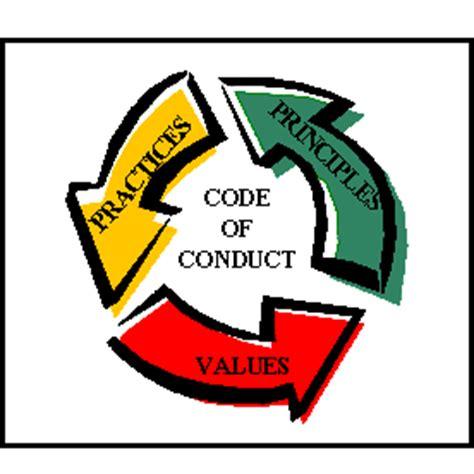 code of conduct exle brad s