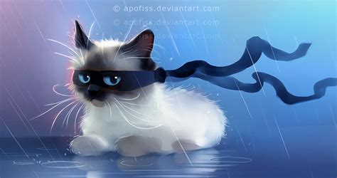 cat wallpaper deviantart fancy ninja cat by apofiss deviantart com on deviantart