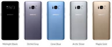 at t colors which galaxy s8 color version would you