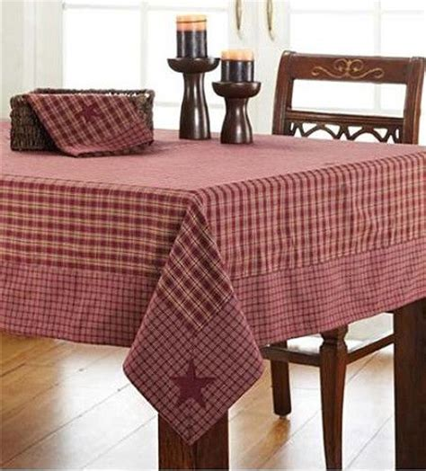 country table cloth new country burgundy check tablecloth