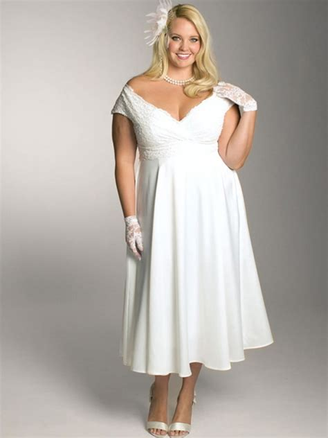 Plus Size Informal Wedding Dresses informal plus size wedding dresses styles of