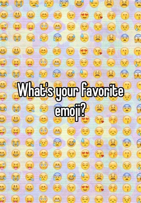 Whats Your Favorite Place To Shop by What S Your Favorite Emoji