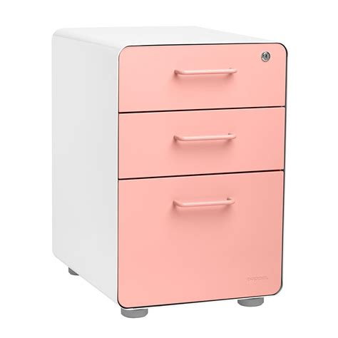Poppin File Cabinet by Poppin File Cabinet White Poppin 3 Drawer Stow File