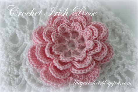 free patterns irish crochet lacy crochet crochet irish rose