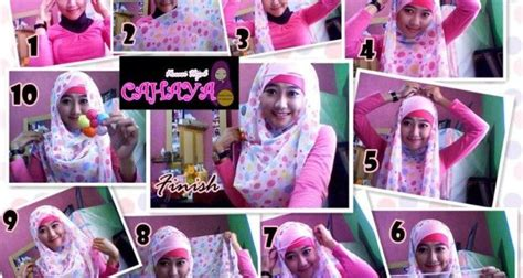 tutorial berhijab pasmina sifon 1000 ideas about cara hijab on pinterest hijab style
