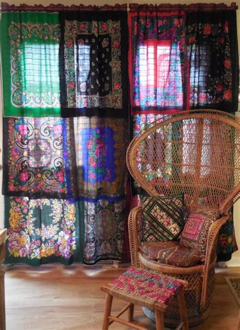 bohemian window curtains 25 best ideas about bohemian curtains on