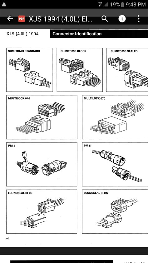 Facelift wiring connectors - Jaguar Forums - Jaguar
