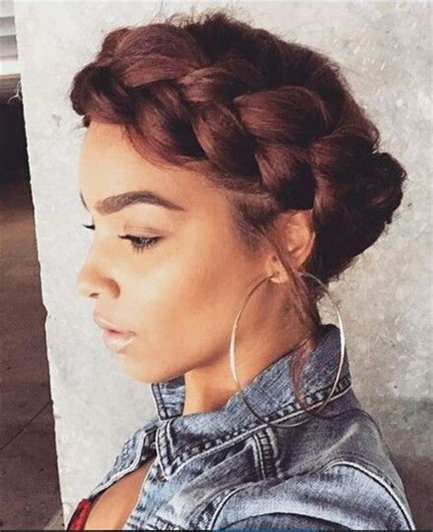 halo braids for black women on pinterest 502 best images about fantastic styles braids buns