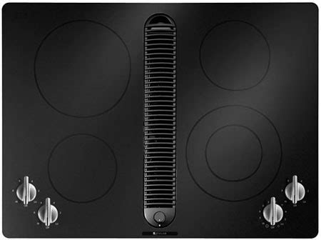 Electric Cooktop 30 Jenn Air 30 Quot Electric Cooktop In Black Jed8430bdb Abt