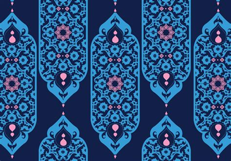 islamic pattern ornament islamic ornaments dark blue vector download free vector