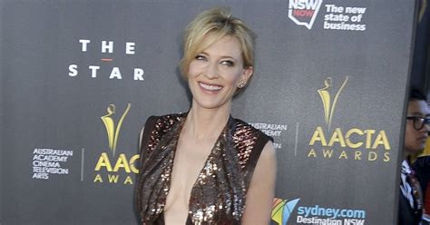 Robe Dos Nu Cate Blanchett - cate blanchett opte pour une robe givenchy 224 sequins