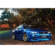 Nissan Skyline Gtr R34 Wallpaper  WallpaperSafari