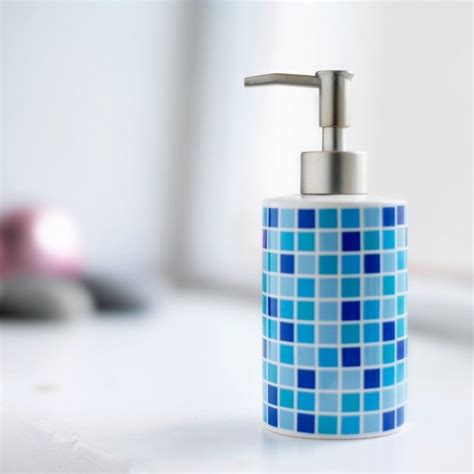 Blue Mosaic Badezimmeraccessoires repairing a soap dispenser thriftyfun