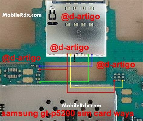 Connector Sim Samsung P5200 samsung tab 3 p5200 sim card repair ways solution