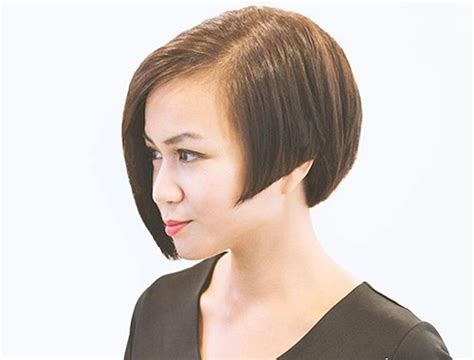 long geometric rounded graduation haircut bowl cuts 30 modern edgy haircuts to try out this season