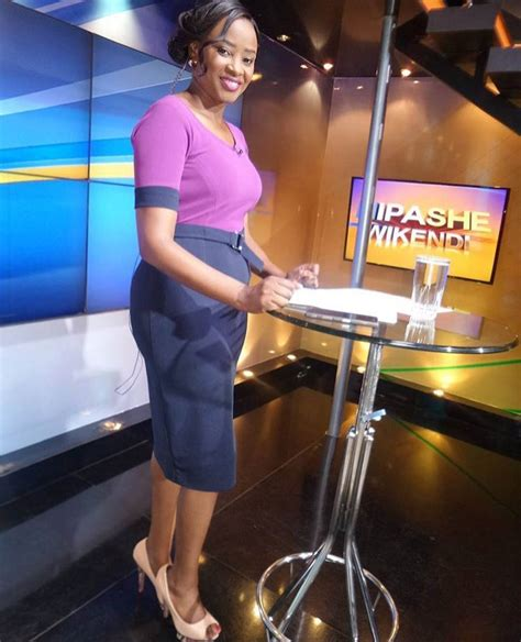 Kanze Dena Kanze Dena Steps Out With No Make Ups And End Up