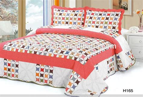 Cheap Patchwork Quilts - 2015 new design high quality 100 cotton filling wholesale