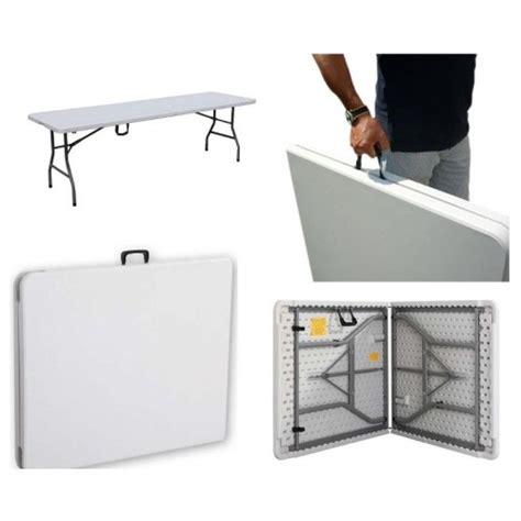 tavoli pieghevoli per mercatini tavolo pieghevole rettangolare 183 x 76 x 74 per catering