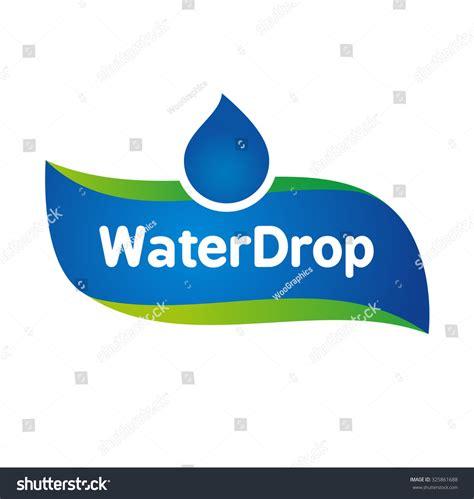 water label design vector image gallery water logo