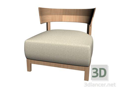 stuhl 3d modell 3d modell massivholz stuhl vom hersteller flexform