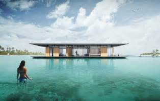 home design concept with beach background photo 1 sustainable floating house concept delivers magic on water