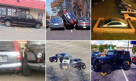 confounding images capture  worlds worst parking jobs