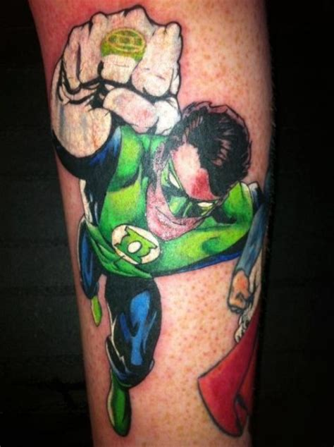 green lantern tattoos green lantern