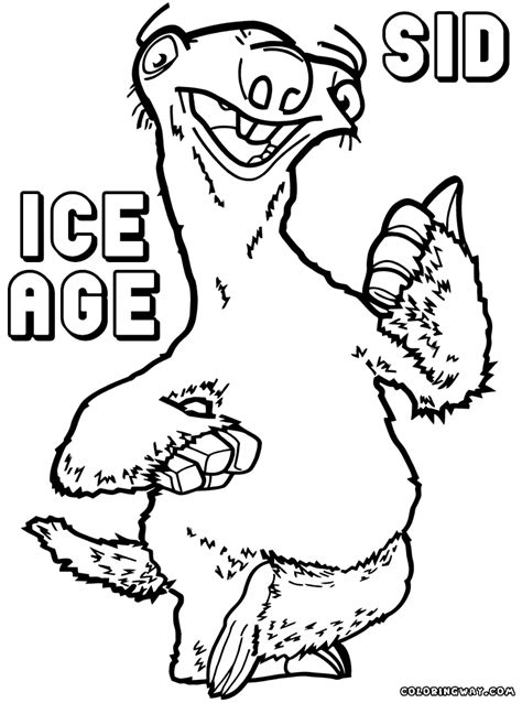 Ice Age Coloring Pages Coloring Pages To Download And Print Age Coloring Pages