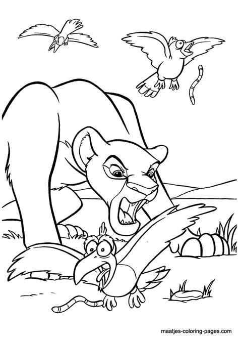Coloring Pages Simba S Pride Fun Site King 2 Coloring Pages