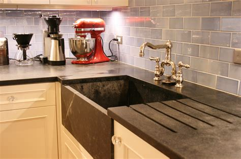 Soapstone Kitchen by Sublime Soapstone Countertops Cost Per Square Foot