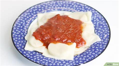 como cocinar ravioles 3 formas de cocinar ravioles wikihow