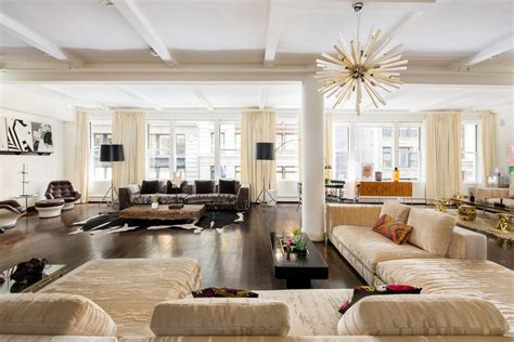 east village loft this nyc apartment was once a small lauren santo domingo s 7 25 million industrial loft is
