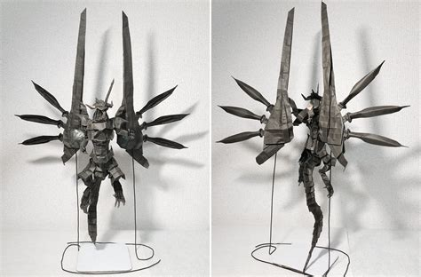 Origami Bahamut - chocobos summons fiends and other amazing