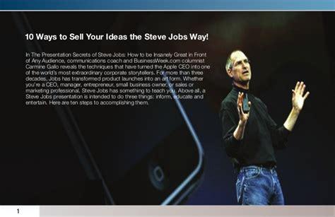presentation on biography of steve jobs the presentation secrets of steve jobs