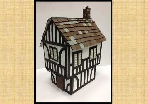 make tudor house model house and home design