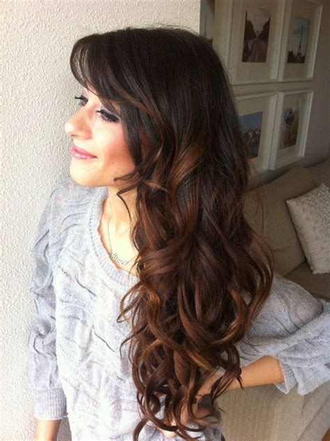 getting hair curled and color 14 best images about hair on pinterest brown hair