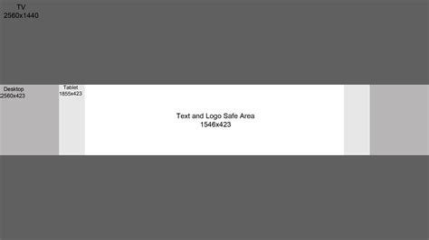 banner layout size size for youtube banner best template exles