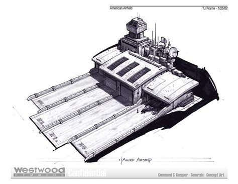 concept design usa image usa airfield concept art jpg command and conquer