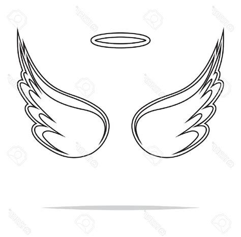 heart wing logo clip art vector clip art online royalty best free angel wings heart clipart black and white for