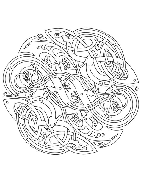 coloring pages for adults celtic celtic coloring pages for adults coloring home