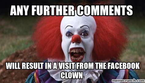 Meme Clown - facebook clown