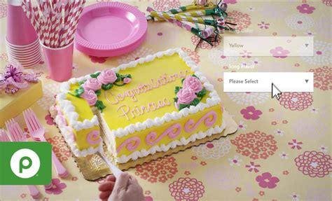 Custom Cake Bakery by Order Custom Bakery Cakes With Publix Easy Ordering