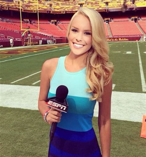 nfl female reporters brown hair hot sexy britt mchenry blue sundress bikini ass tits boobs