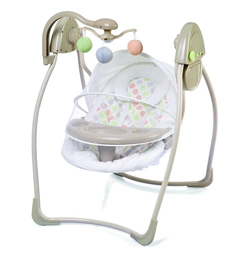 electronic baby swings 2 in 1 electronic swing with canopy and front tray