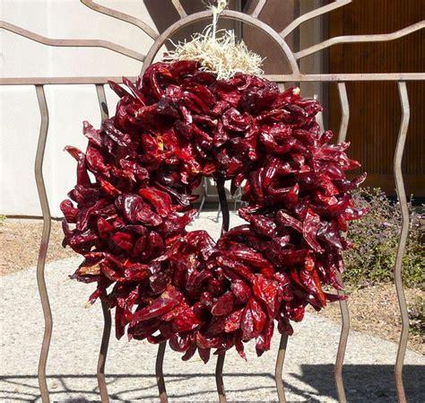 chileanchristmas decor photograph of chile wreath photographs chili and arizona