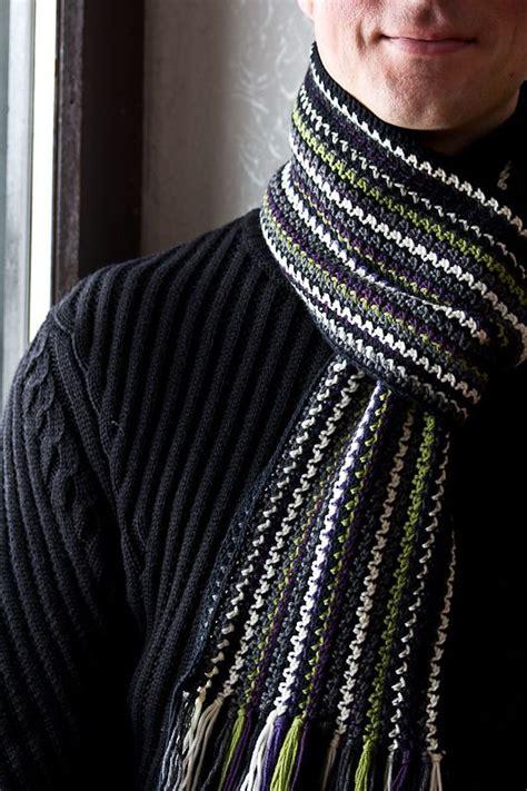 pattern crochet mens scarf pinterest the world s catalog of ideas
