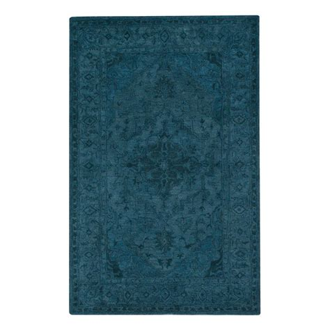 3 x 8 rug home decorators collection kingdom blue 5 ft 3 in x 8 ft 3 in area rug 1603120310 the home